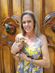 Calo Programs Canine Therapy Director Jeanna Osborn